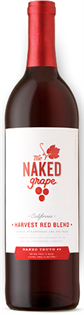 The Naked Grape Harvest Red Blend 750ml - Case of 12